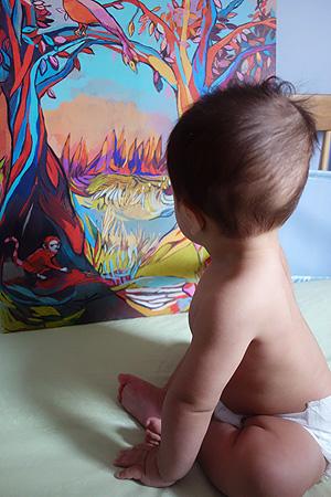 Felix, Baby Art Critic